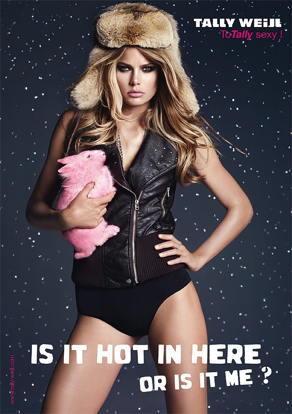 """""""Is it hot in here or is it me""""? TALLY WEiJL Campagne Automne/Hiver 2009/2010"""