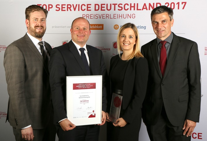 Top Service Deutschland 2017: Sixt belegt ersten Platz