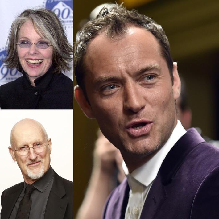 """""""The Young Pope"""": Internationale Besetzung an der Seite von Jude Law und Diane Keaton"""
