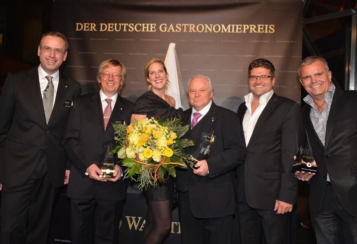 Deutscher Gastronomiepreis 2012 geht an Top-Gastronomen aus dem hohen Norden (BILD)