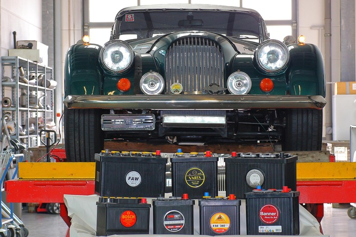 GTÜ testet acht Oldtimer-Batterien (FOTO)