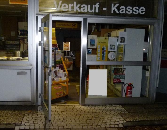 Die Einbrecher hatten es offenbar auf Tabakwaren abgesehen. Foto: Polizei Minden-Lübbecke