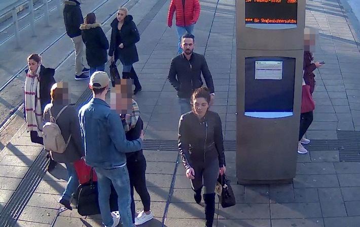 POL-E: Essen: Diebesquartett stiehlt Portmonee an Busbahnhof - Fotofahndung