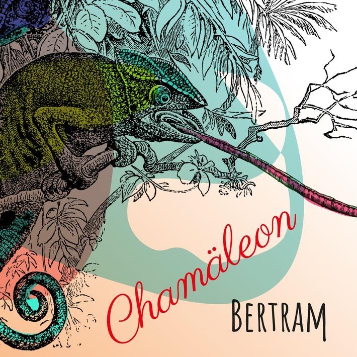BILD zu OTS - Cover des neuen BERTRAM-Albums namens CHAMÄLEON