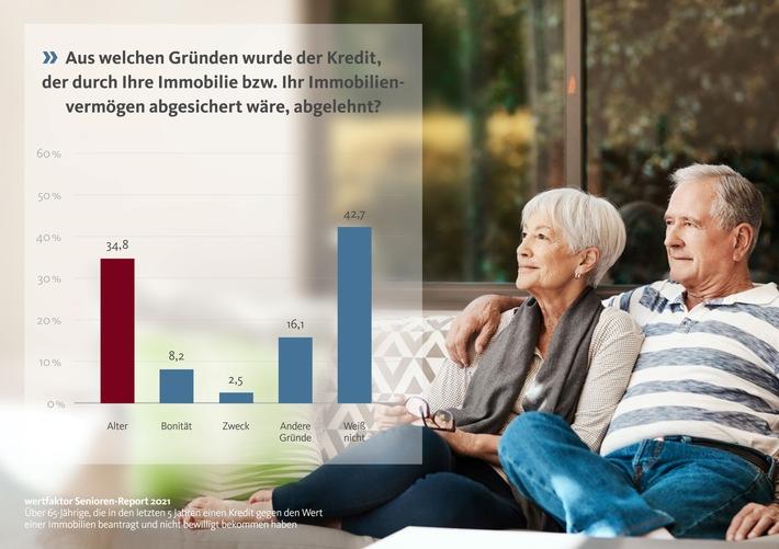 Infografik: Abgelehnt wegen des Alters / Weiterer Text über ots und www.presseportal.de/nr/134070 / Die Verwendung dieses Bildes ist für redaktionelle Zwecke unter Beachtung ggf. genannter Nutzungsbedingungen honorarfrei. Veröffentlichung bitte mit Bildrechte-Hinweis.