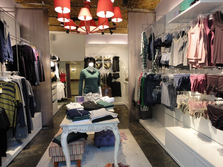 Swiss underwear dream in the new CALIDA store in Amsterdam