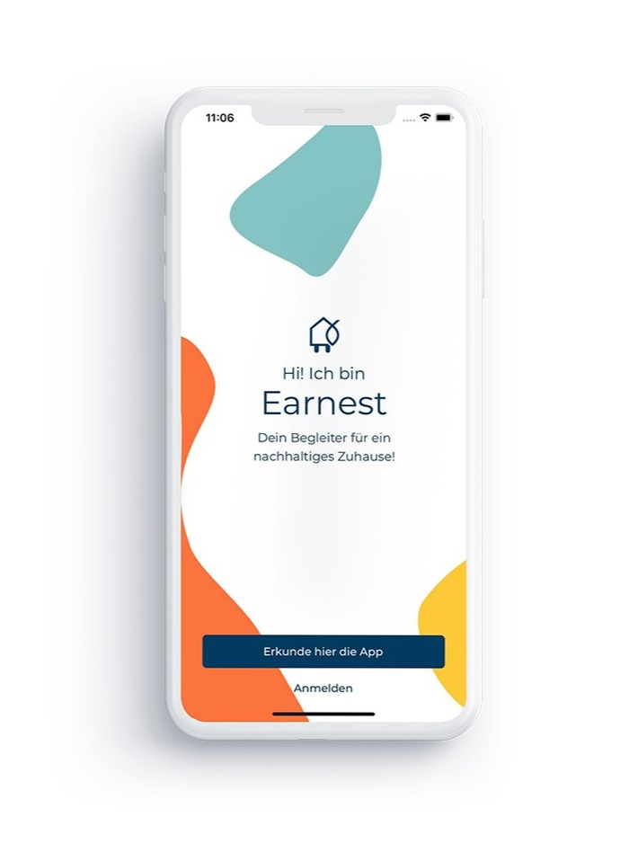Screenshot der App