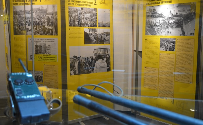 Einblick in die Ausstellung