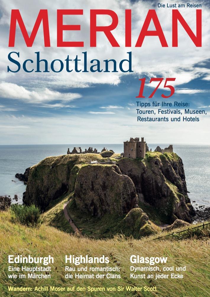 """""""Schottland - eine Welt voller Magie"""" / NEU: MERIAN Schottland erscheint am 28. Juli 2016"""