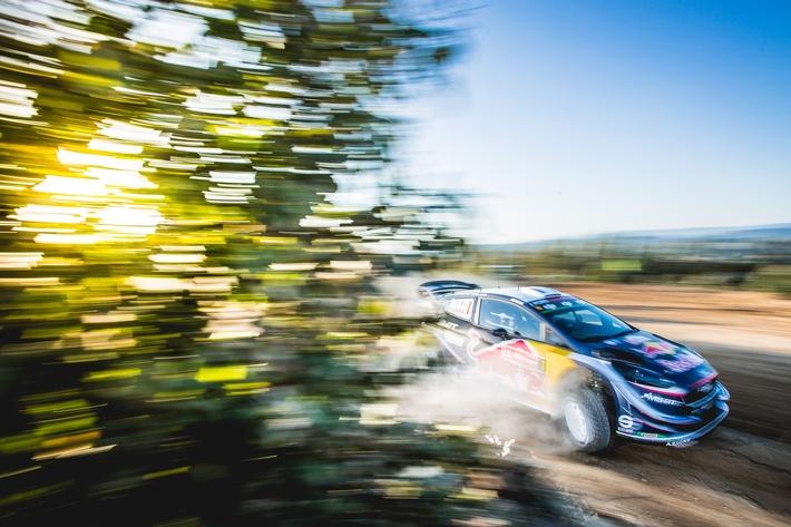 Auf dem Sprung in die zweite Saisonhälfte: Ford will bei der Rallye Finnland angreifen. Titelverteidiger Sébastien ...