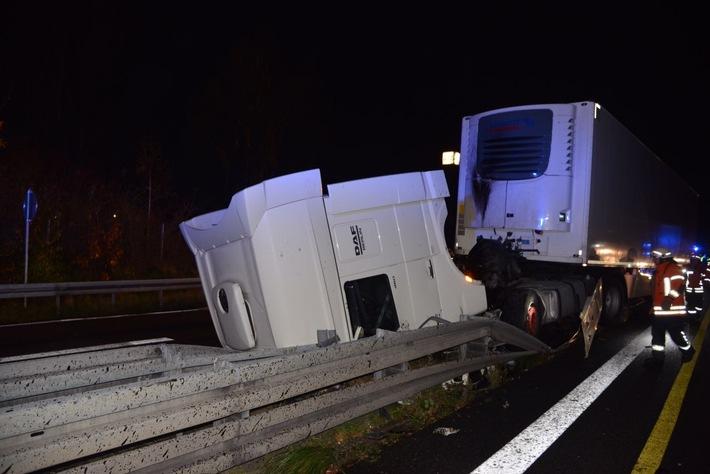 POL-BS: Lkw-Unfall auf A2 Richtung Berlin - Kilometerlanger Stau