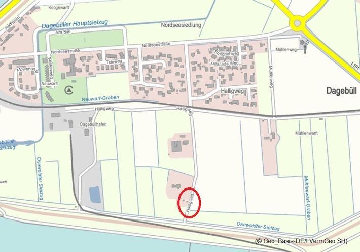 Dagebüll Quellenangabe: Polizeidirektion Flensburg