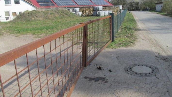 POL-NI: Verkehrsunfallflucht in Leese