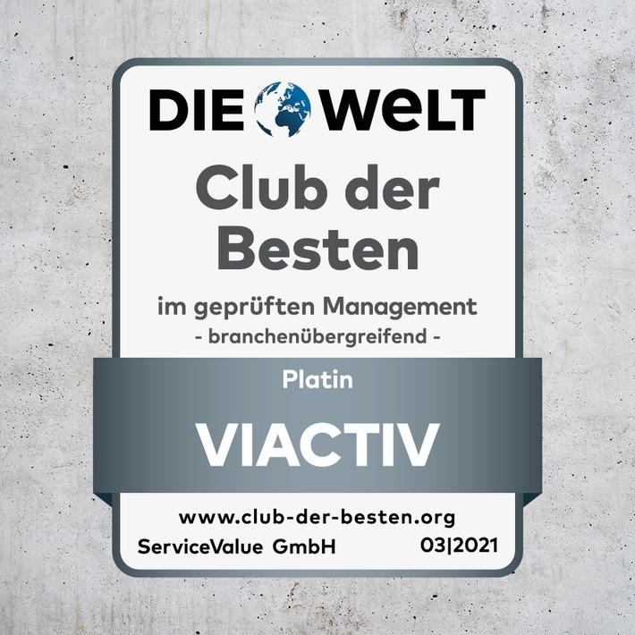 Siegel Club der Besten / Weiterer Text über ots und www.presseportal.de/nr/121326 / Die Verwendung dieses Bildes ist für redaktionelle Zwecke unter Beachtung ggf. genannter Nutzungsbedingungen honorarfrei. Veröffentlichung bitte mit Bildrechte-Hinweis.