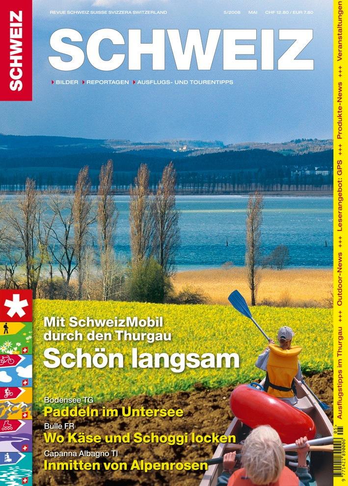 Revue SCHWEIZ 5/2008: Thurgau - der sanfte Kanton