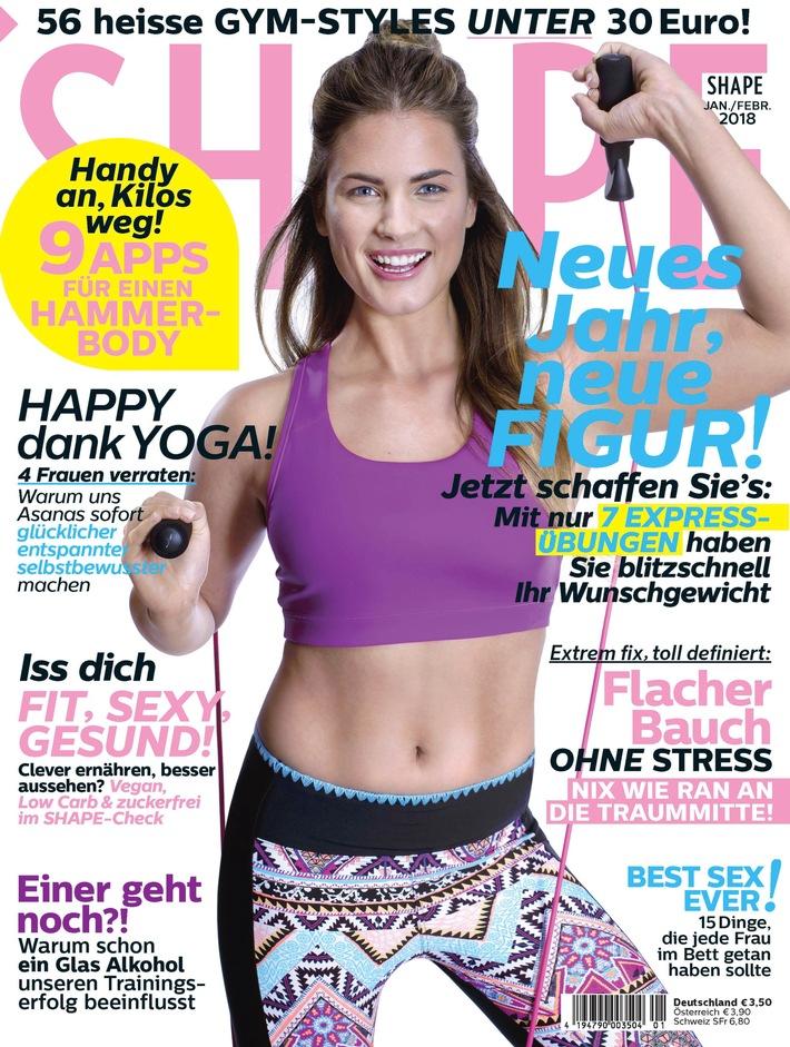 Jetzt in Shape: Ran an die Traum-Mitte - die 30-Tage-flacher-Bauch-Challenge