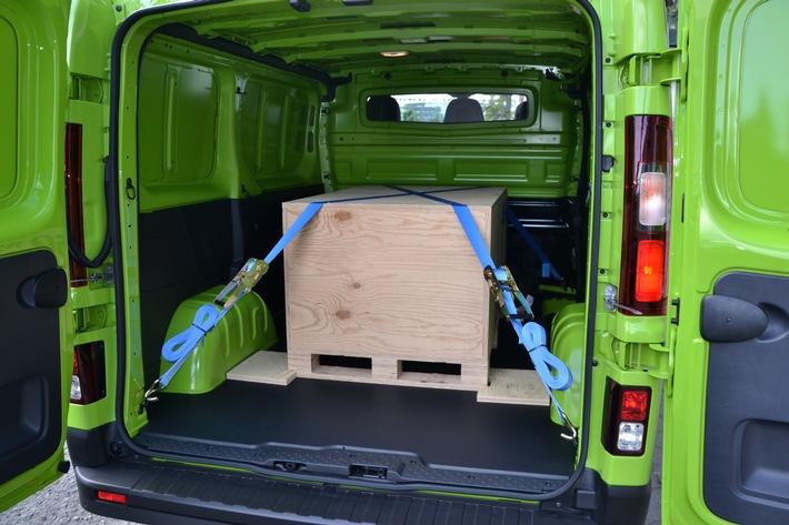 Ladung richtig sichern: Erst organisieren, dann transportieren