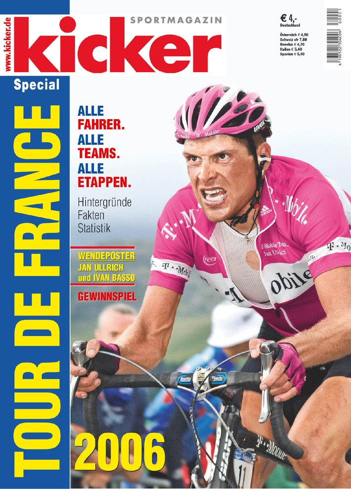 kicker Sonderheft zur Tour de France 2006