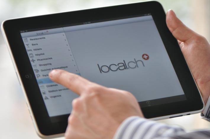 local.ch lancia il primo elenco telefonico per iPad