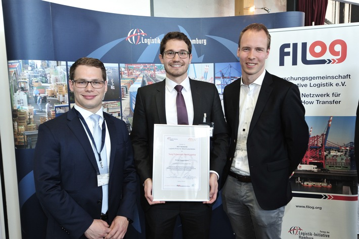 Young Professionals' Award Logistics: HFH-Student mit bester Bachelorarbeit