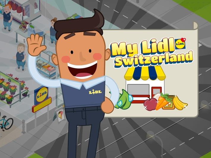 """My Lidl Switzerland. Weiterer Text über ots und www.presseportal.ch/de/nr/100016795 / Die Verwendung dieses Bildes ist für redaktionelle Zwecke honorarfrei. Veröffentlichung bitte unter Quellenangabe: """"obs/LIDL Schweiz"""""""