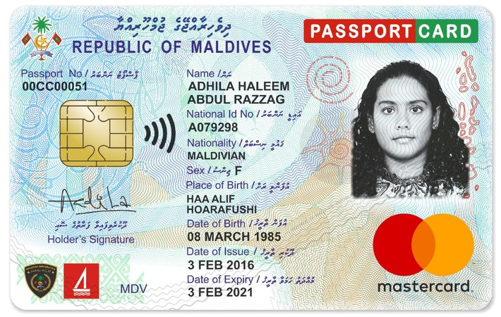 Maldives introduces most innovative ID Card / Innovation in the Maldives