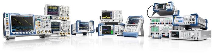 Value Instruments von Rohde & Schwarz liefern hochwertige Messtechnik zu niedrigen Preisen (BILD)