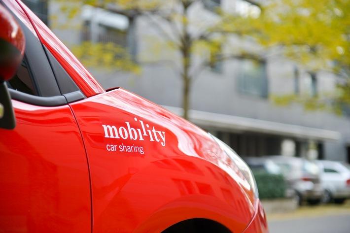 """Mobility investit dans l'avenir et enregistre un résultat annuel solide. Texte complémentaire par ots et sur www.presseportal.ch/fr/nr/100010161 / L'utilisation de cette image est pour des buts redactionnels gratuite. Publication sous indication de source: """"obs/Mobility Carsharing Schweiz"""""""