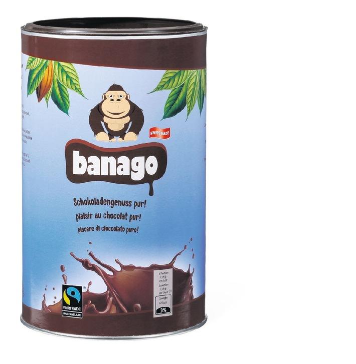 """La Migros introduce """"Banago"""", il classico del cacao"""