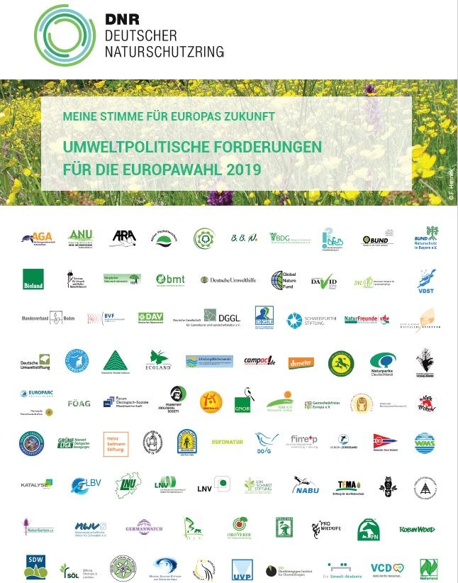 Europapolitische Forderungen von 87 DNR-Mitgliedsverbnden. Weiterer Text ber ots und www.presseportal.de/nr/29188 / Die ...