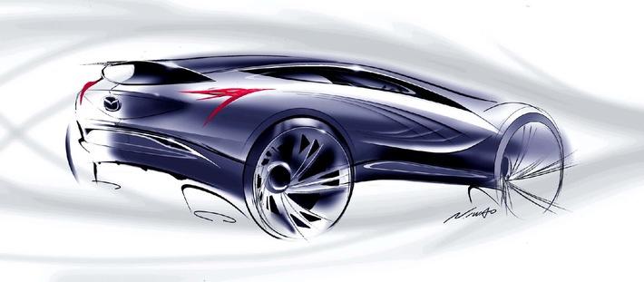 La Nuova Concept Car Mazda Presentata per la Prima Volta al Salone dell'Automobile di Mosca