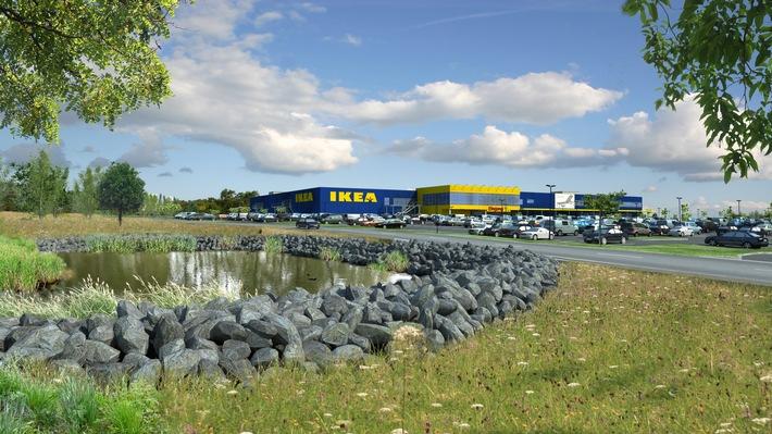 IKEA Wuppertal feiert Richtfest - Nachhaltigkeit und erneuerbare Energien im Fokus