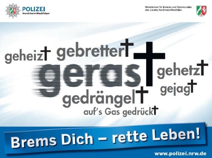 "POL-REK: ""Brems Dich, rette Leben!"" - Rhein-Erft-Kreis"