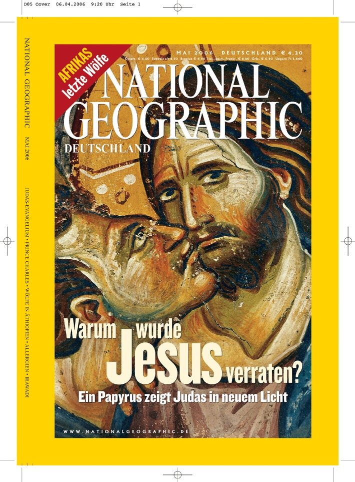 Magazin-Cover NATIONAL GEOGRAPHIC DEUTSCHLAND, Mai 2006
