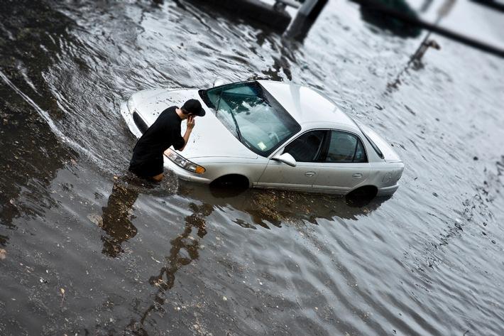 Kfz-Werkstatt kann manches Auto mit Wasserschaden retten
