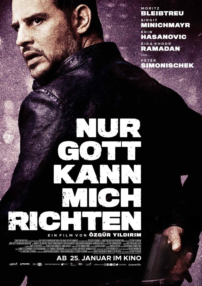 Ab 25. Januar im Kino: NUR GOTT KANN MICH RICHTEN / Trailer und Plakat online
