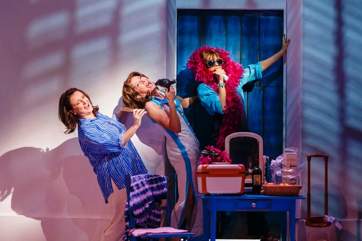 Mamma Mia! Musical-Welterfolg von ABBA ab heute wieder in Berlin / Premiere im Stage Theater des Westens