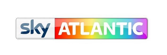 """Logo Sky Atlantic HD """"Pride Weekends"""" Weiterer Text über ots und www.presseportal.de/nr/33221 / Die Verwendung dieses Bildes ist für redaktionelle Zwecke honorarfrei. Veröffentlichung bitte unter Quellenangabe: """"obs/Sky Deutschland"""""""