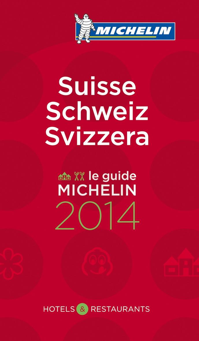 Guide MICHELIN Schweiz 2014 mit neuer Rekordzahl von 110 Sterne-Restaurants (BILD/DOKUMENT)