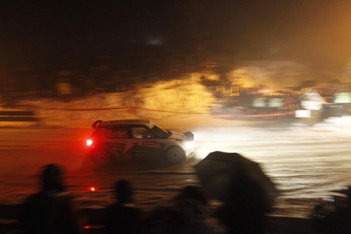 Rallye Monte Carlo: SKODA AUTO Deutschland-Piloten Wiegand/Christian mit Klassensieg und Platz acht gesamt (BILD)