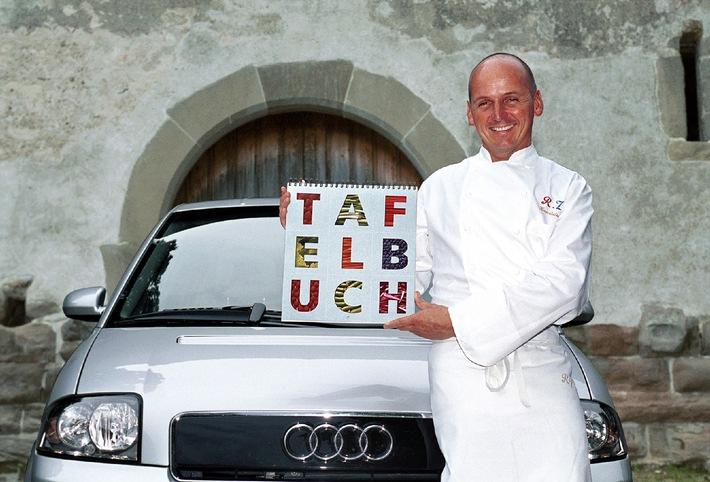 "Rico Zandonella, chef-cuisinier du très renommé restaurant ""Petermann's Kunststuben"" à Küsnacht (ZH)"