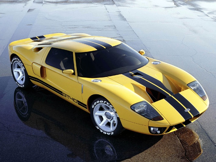 Ford GT40 Concept Car geht in Serienproduktion