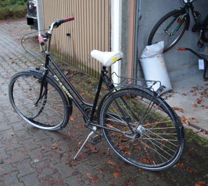 POL-HM: Fahrradbesitzer gesucht