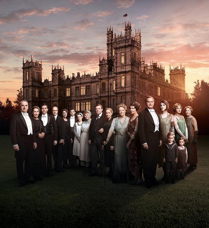 """Downton Abbey Staffel 6 exklusiv bei Sky Weiterer Text über ots und www.presseportal.de/nr/33221 / Die Verwendung dieses Bildes ist für redaktionelle Zwecke honorarfrei. Veröffentlichung bitte unter Quellenangabe: """"obs/Sky Deutschland"""""""