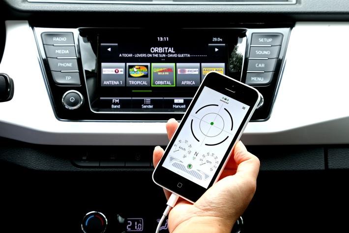 SKODA SmartGate: clever fahren