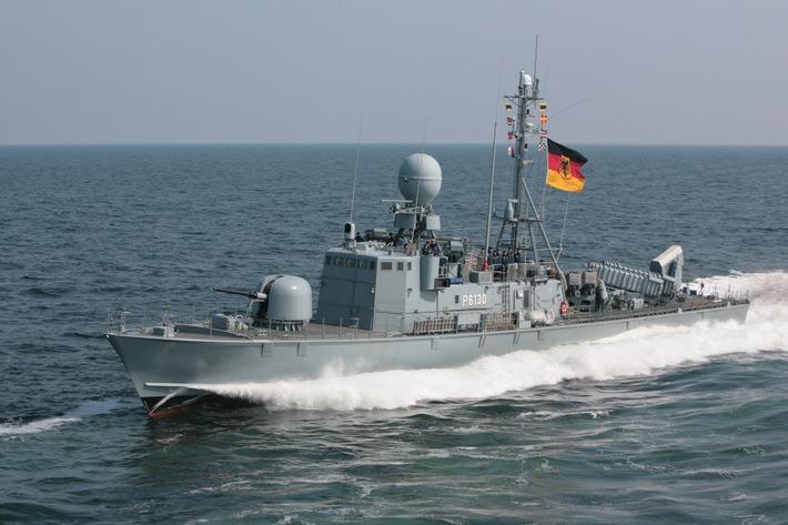 Schnellboot zum UNIFIL-Einsatz