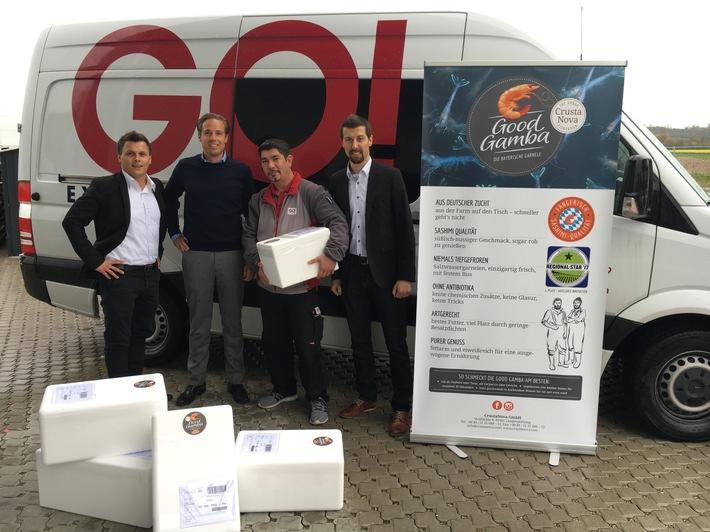 Fangfrische Garnelen aus Bayern erobern die Gourmetwelt mit GO!