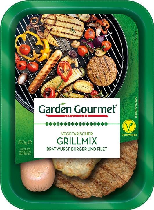 Fleischfrei Grillen / Garden Gourmet bringt vegetarischen Grillmix auf den Markt