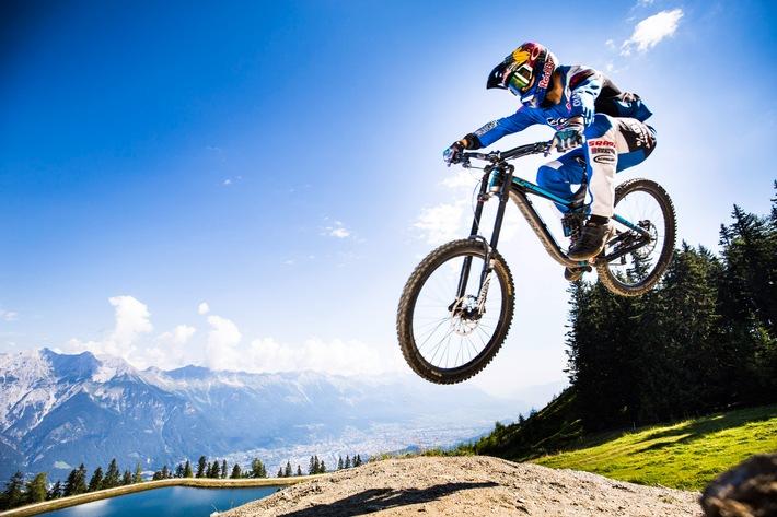 Crankworx kommt von 21. bis 25. Juni 2017 erstmals nach Innsbruck - BILD