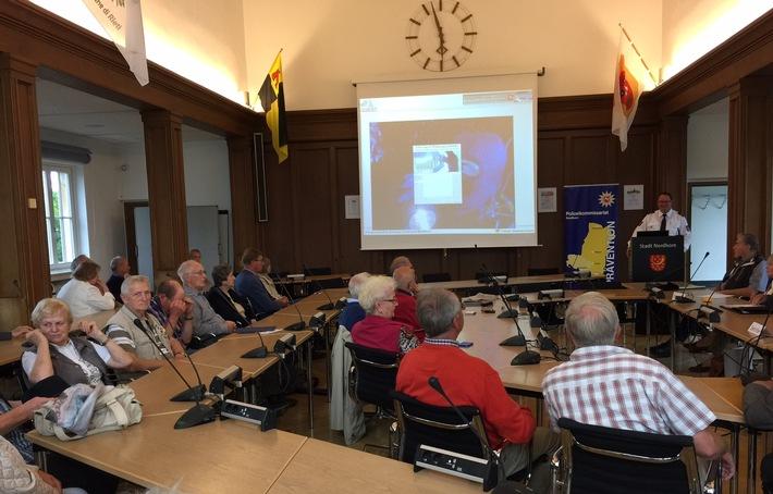 POL-EL: Nordhorn - Infonetzwerk zwischen Polizei und Seniorenbeirat